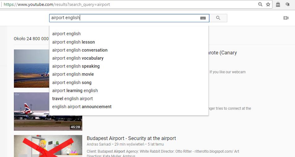 Angielski za granicą - jak się przygotować? - Airport